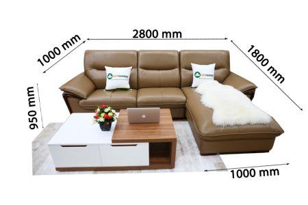 Sofa da nhập khẩu mã VH-17T