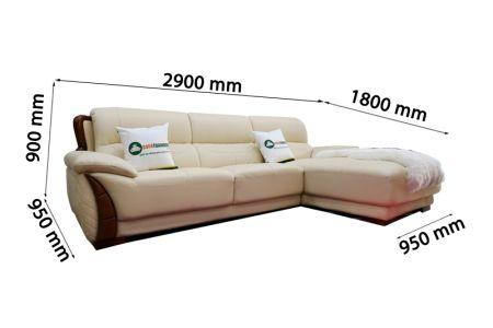 Sofa da nhập khẩu mã VH-23T