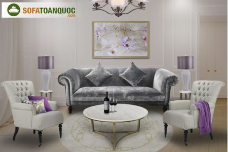 Ghế sofa vải mã 70