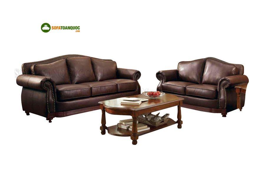 Sofa da cao cấp mã 30