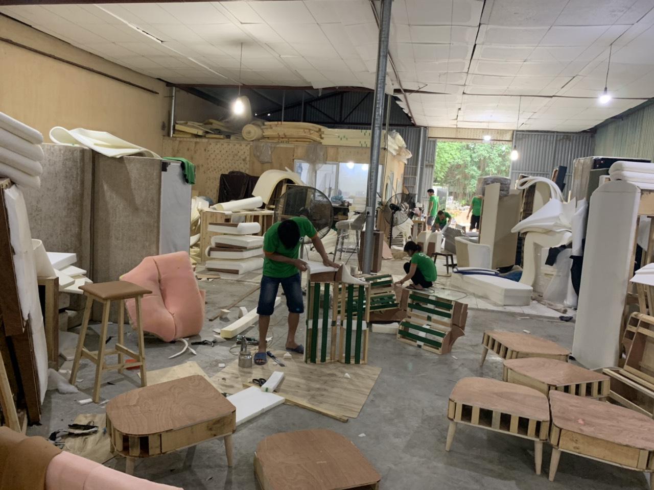 xưởng sofa