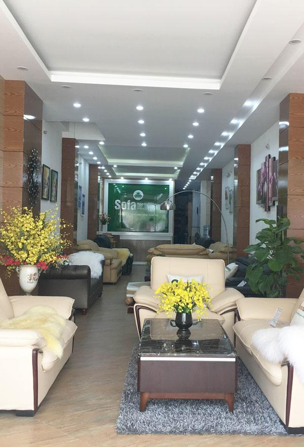 showroom sofa tại Hà nội của Sofa toàn quốc
