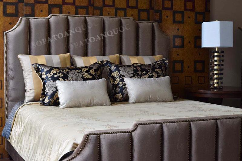 giường ngủ bọc vải mã 45-3