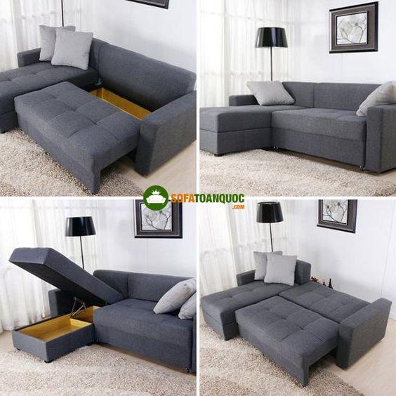 ghế sofa đa năng có hộc tủ