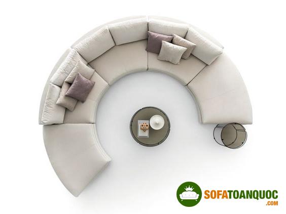 ghế sofa cong hình chữ C
