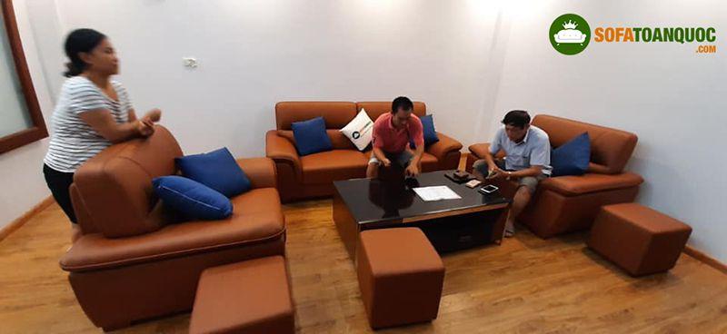 bộ ghế sofa tiếp khách văn phòng 2020