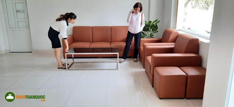 bộ ghế sofa văn phòng tiếp khách