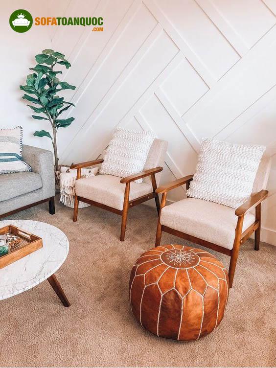 bộ ghế sofa đơn mini