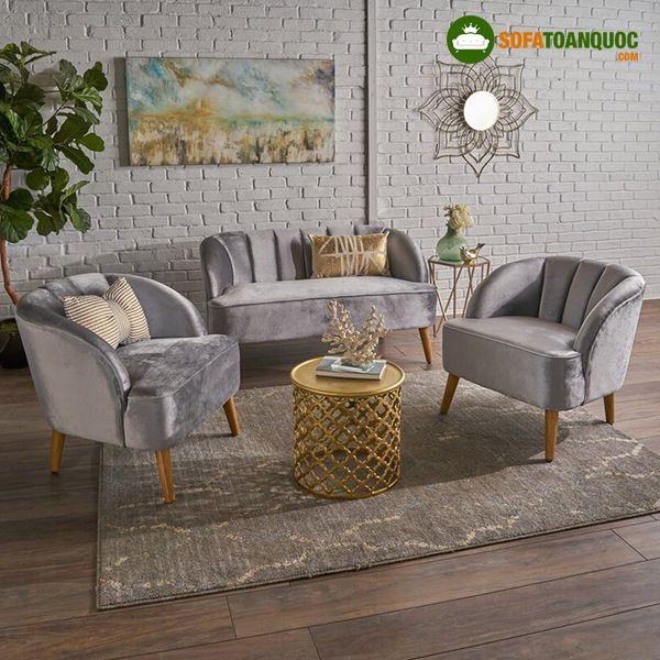 ghế sofa màu ghi sáng