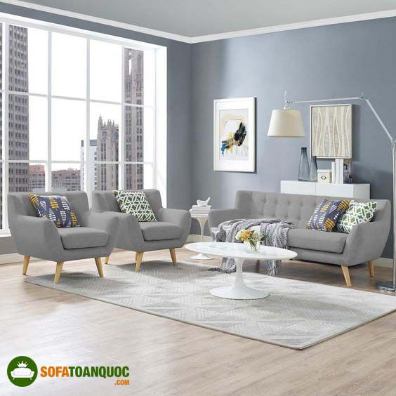 sofa màu ghi sáng