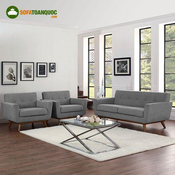 ghế sofa màu ghi xám