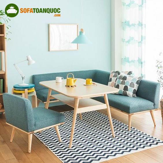 bộ ghế sofa mini góc