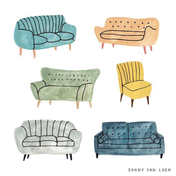 các loại ghế sofa phòng khách