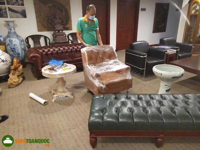 cách vận chuyển sofa an toàn