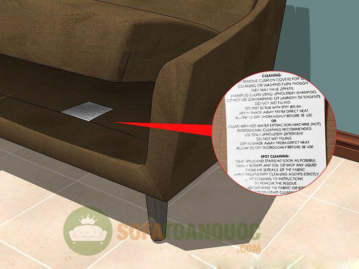 thông tin vệ sinh sofa da thật
