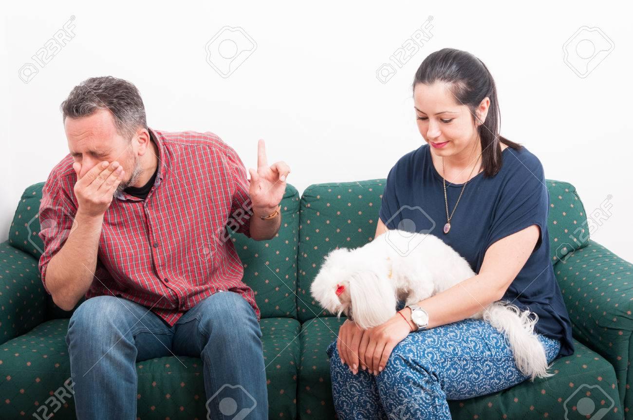 dị ứng khi sử dụng sofa