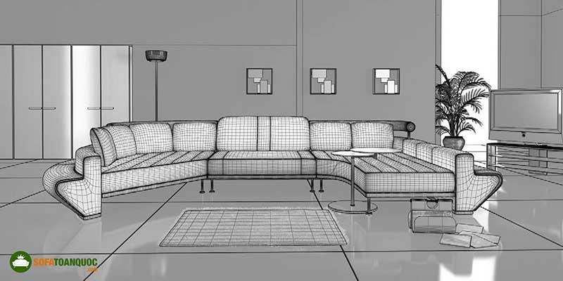 dịch vụ thiết kế sofa theo yêu cầu