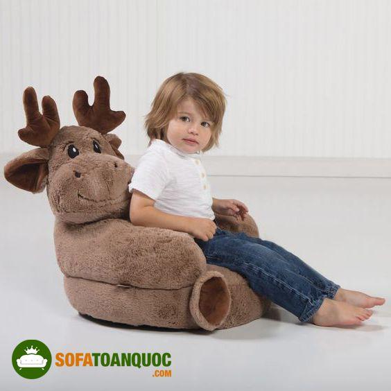 ghế sofa ngồi bệt hình thú