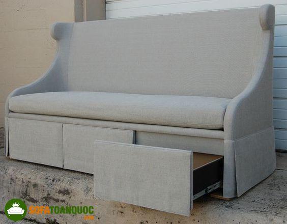 ghế sofa văng có ngăn kéo hộc tủ