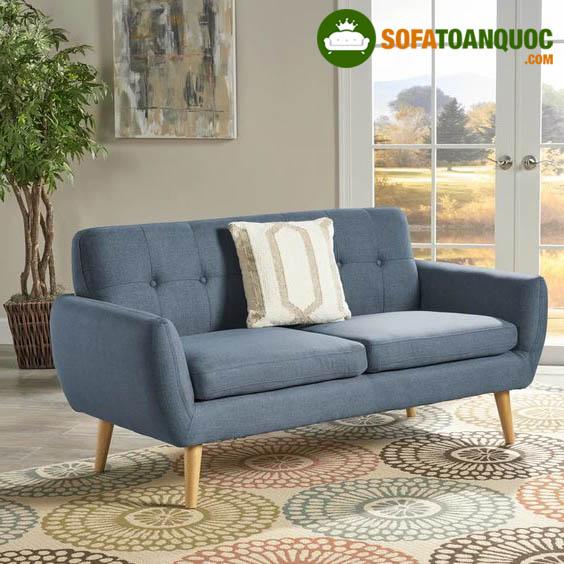 sofa đơn dài giá rẻ bọc vải