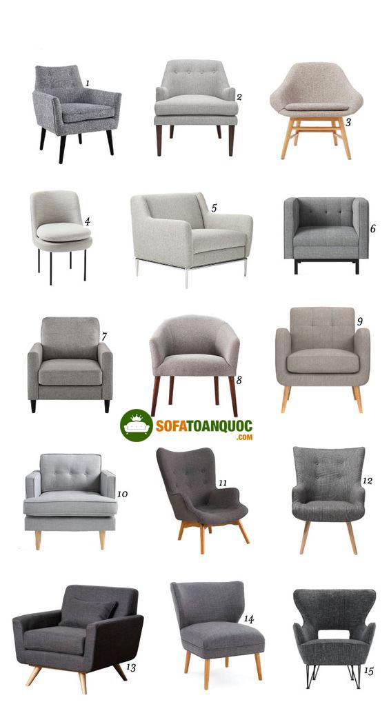 ghế sofa đơn mini