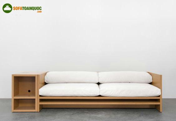ghế sofa có hộc tủ đơn giản