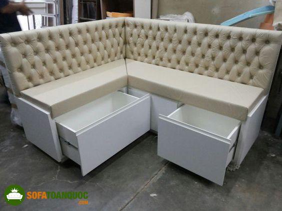 ghế sofa có hộc tủ bên dưới
