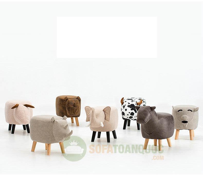 ghế sofa hình thú dễ thương