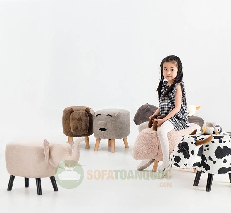 ghế sofa hình con vật khác nhau