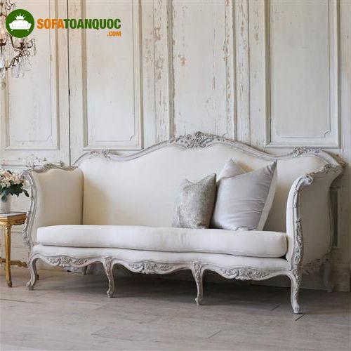 ghế sofa phong cách hoàng gia vintage