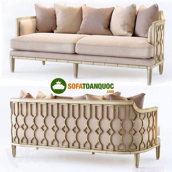 ghế sofa văng dài khung sắt