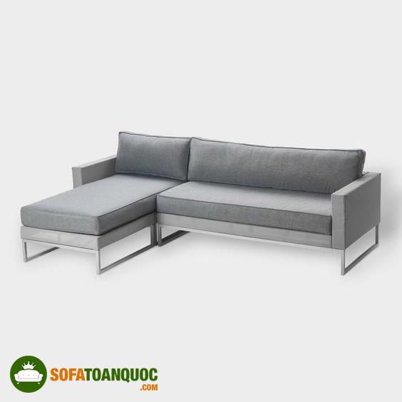 ghế sofa khung sắt dạng góc