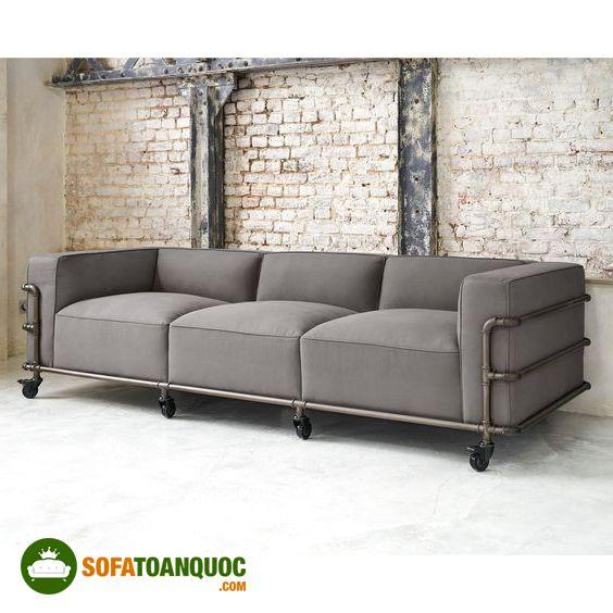 ghế sofa văng khung kim loại sắt