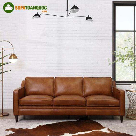 sofa màu da bò