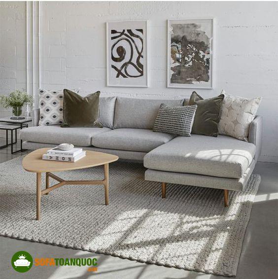 ghế sofa màu ghi đẹp