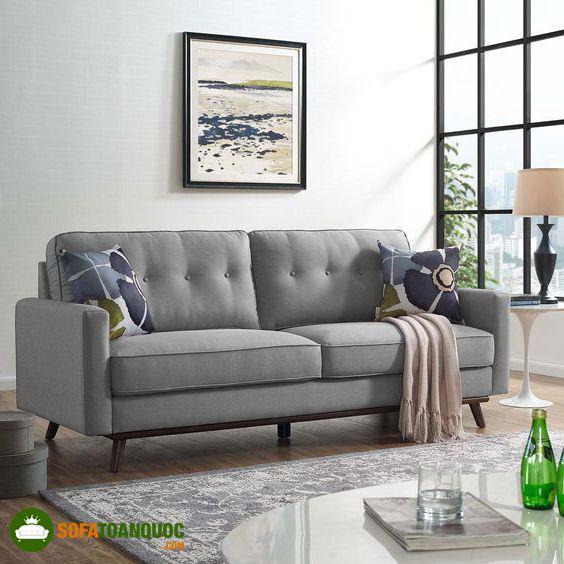 ghế sofa ghi xám đẹp