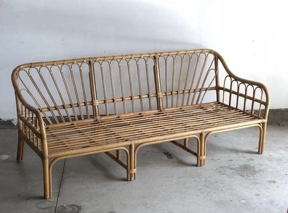 ghế sofa mây tre đan tự nhiên