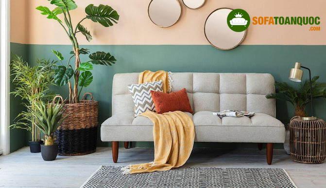 ghế sofa cho nhà nhỏ không tay vịn