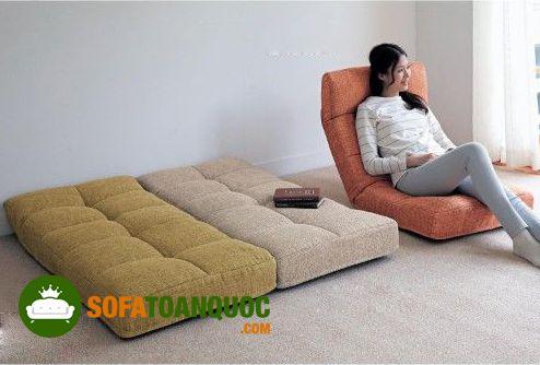 ghế sofa bệt khung gập
