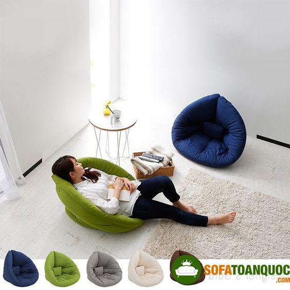 ghế sofa bệt nằm đọc sách