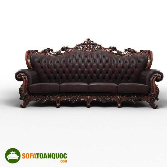 ghế sofa nữ hoàng bọc da