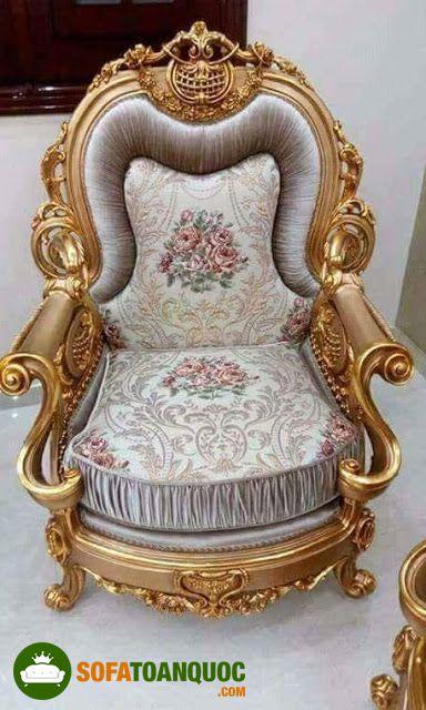ghế sofa nữ hoàng bọc vải