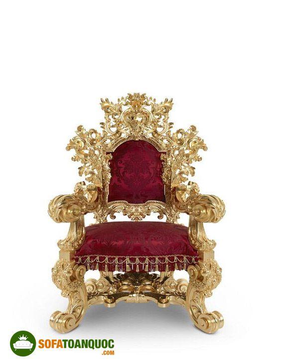ghế sofa nữ hoàng màu đỏ