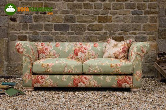 ghế sofa phong cách xưa cũ vintage