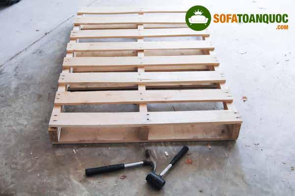 xử lý pallet gỗ đóng sofa