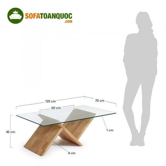 kích thước bàn trà sofa tiêu chuẩn