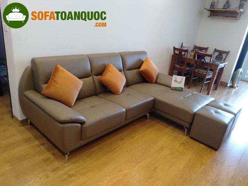 sofa vải nỉ hay da tốt hơn