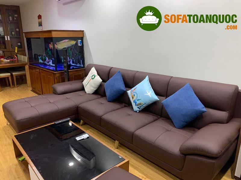 nên chọn sofa nỉ hay sofa da