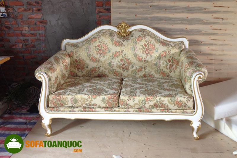 sofa 2m phong cách cổ điển M05