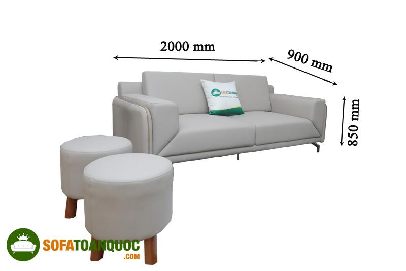 ghế sofa dài 2m mã m08